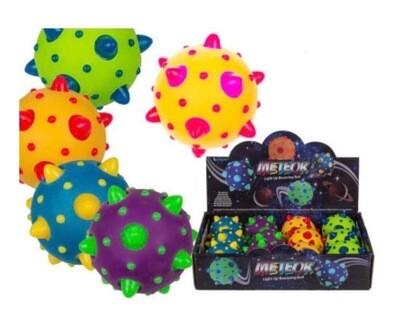 Flashing Light Meteor Bouncing Ball