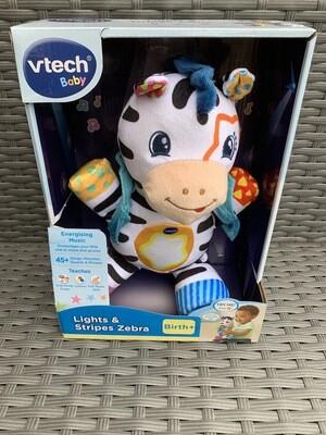 VTech Lights & Sounds Zebra
