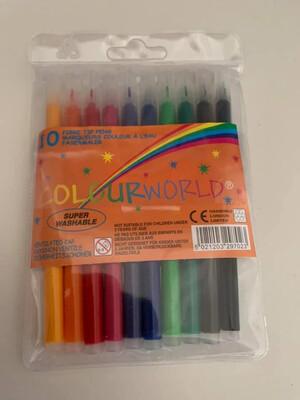 20pk Fibre Pens