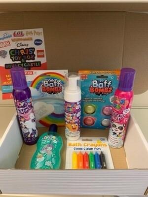 Girls Sensory Bath Box