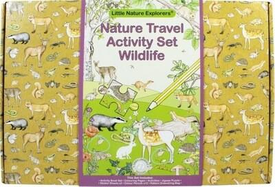 Natures Travel Activity Set Wildlife