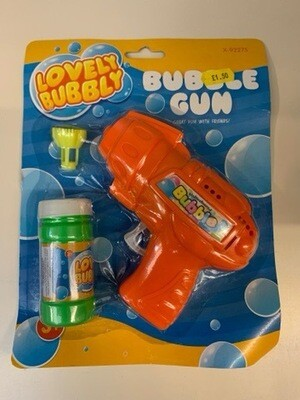 Orange Bubble Gun
