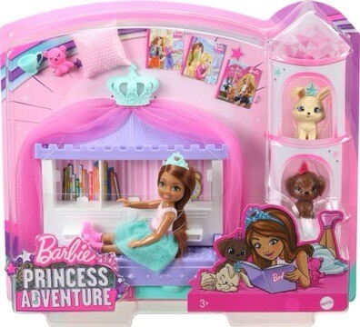 Barbie Princess Adventure Chelsea Play Set