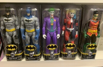 DC Batman Black Outfit Figure