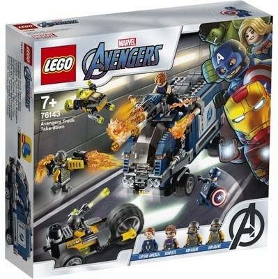 76143 Avengers Take Down Truck