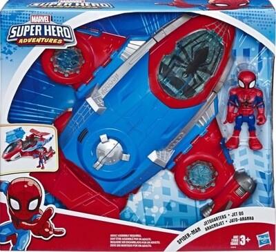 Spider-Man Jet Headquarters