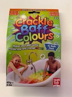 Crackle Baff Colours 6pk