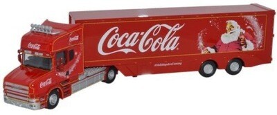 Christmas Coca Cola Box Trailer