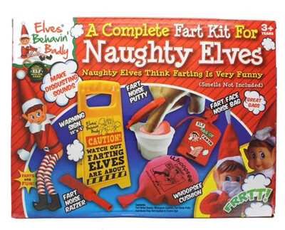 A Complete Kit For Naughty Elf