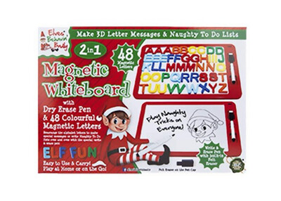Elf Magnetic Whiteboard With Letters
