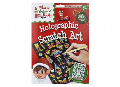 Elf Holographic Scratch Art