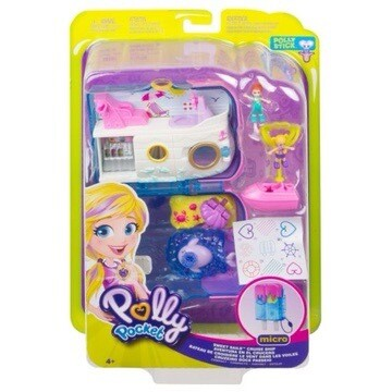 Polly Pocket Popsicle Cruise Play Set