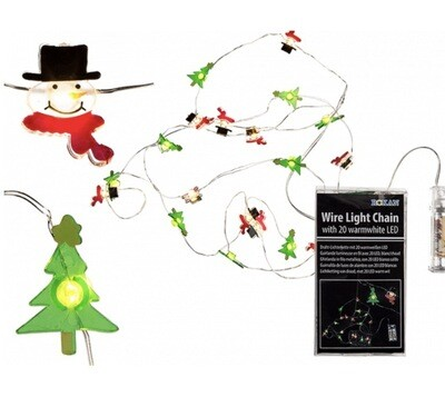 Christmas Wire Light Chain