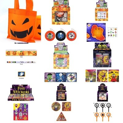 Halloween Pre Filled Treat Bag