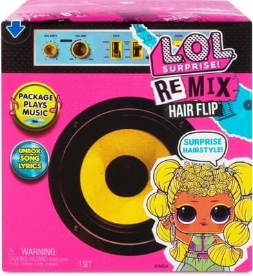 LOL Surprise Remix Hairflips