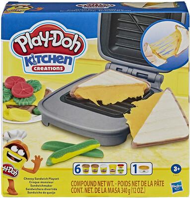 Play Doh Cheesy Sandwich