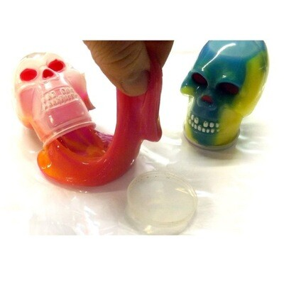 Skull Filled with Slime