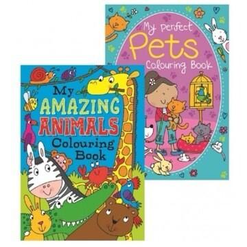 Amazing Animals Colouring