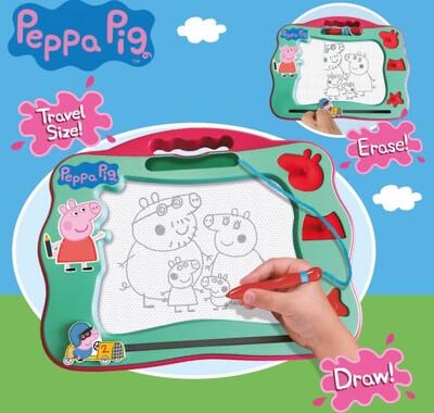 Peppa Pig Magnetic Travel Scribbler