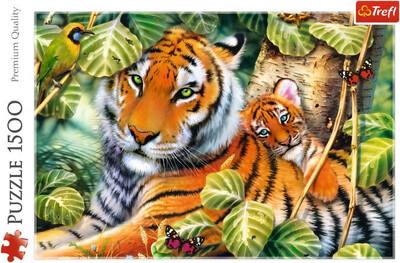 1500pcs Tiger Puzzle