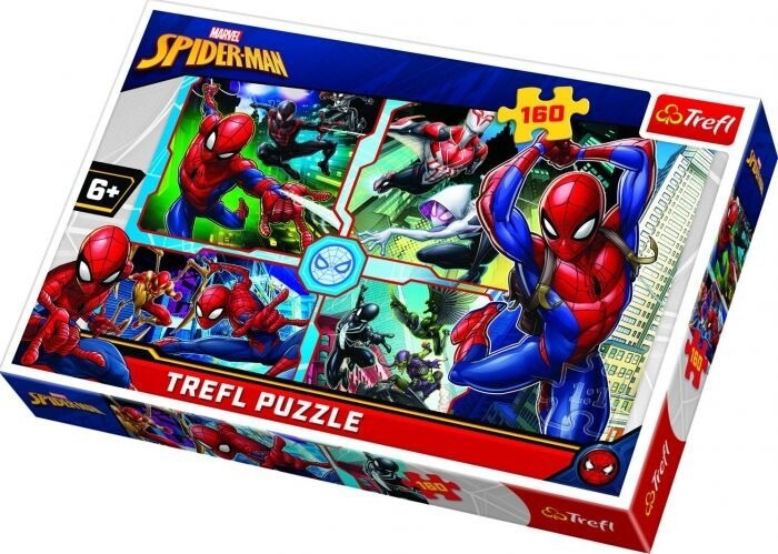 160pcs Spider-man To The Rescue