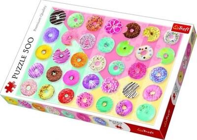 500pcs Sweet Donuts