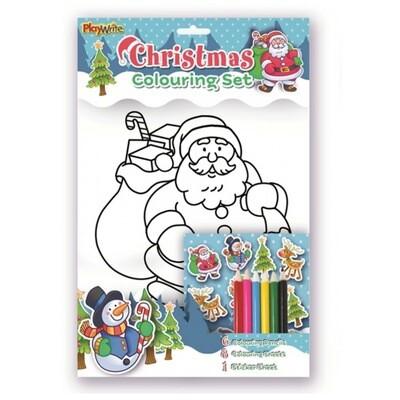 Christmas Colouring Set