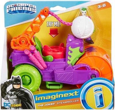 Imaginext Joker Steam Roller