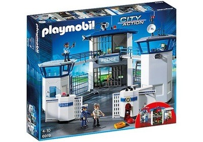 6919 Police Headquarters With Prison