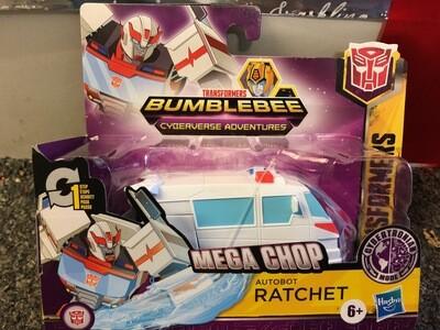 Transformers Mega Chop Ratchet