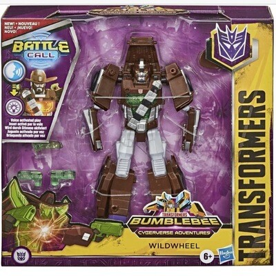 Transformers Cyberverse Wildwheel