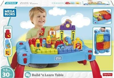 Mega Bloks Build & Learn Table Blue