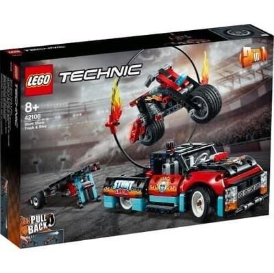 42106 Technic Stunt Show Truck & Bike