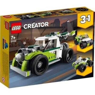 31103 Lego Creator 3 In 1 ROCKET TRUCK