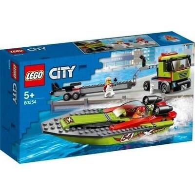 60254 Lego City RACE BOAT TRANSPORTER