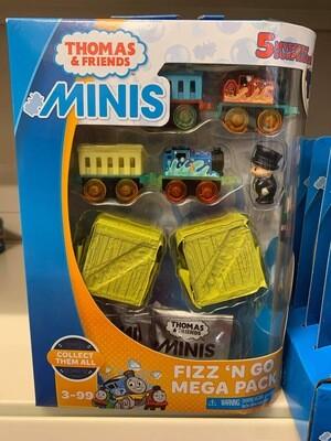 Thomas Minis Mega Fizz N Go Pack