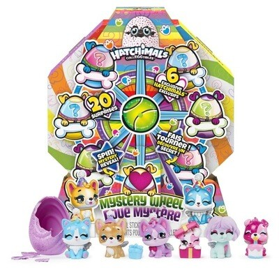 Hatchimals Puppy Party Mystery Wheel