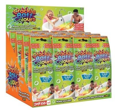 Crackle Baff Colors 3pk