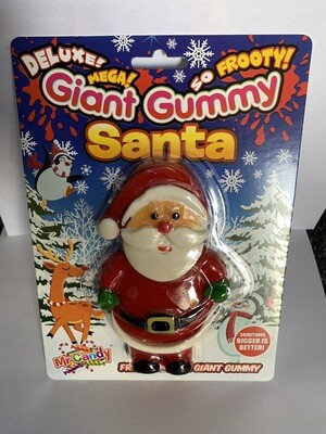 Giant Gummy Santa