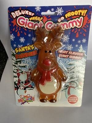 Giant Gummy Reindeer