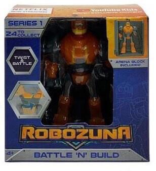 Robozuna battle n build figures ASSORTED