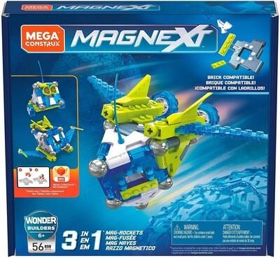 Mega Construx magnext 3 In 1 Rockets