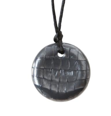 Chewigem Button Silver Grey