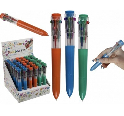 Ball Pen 10 Coloured