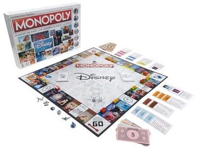 Disney Animation Edition Monopoly