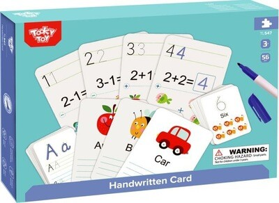 Handwriting Alphabet & Numbers Cards