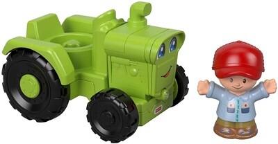 Little People Green Tractor & Farmer