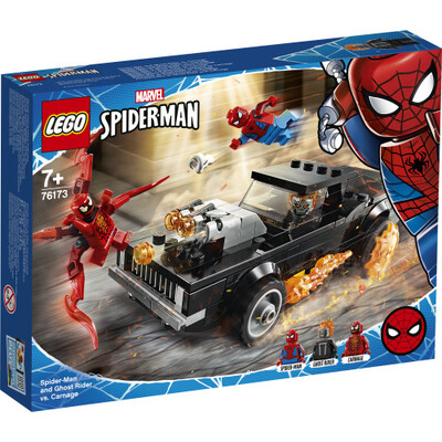 76173 Spider-Man and Ghost Rider