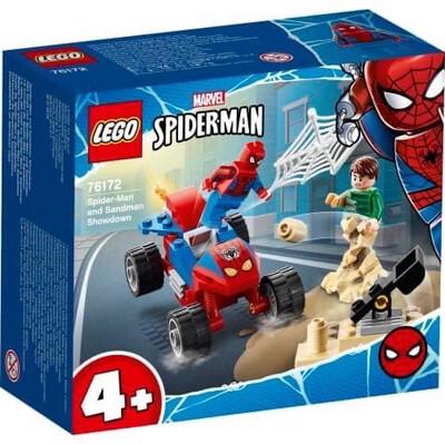 76172 Spider-Man and Sandman Showdown