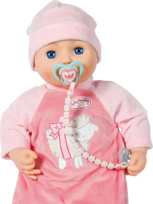 Baby Annabell Dummy Clip (assorted Colours)